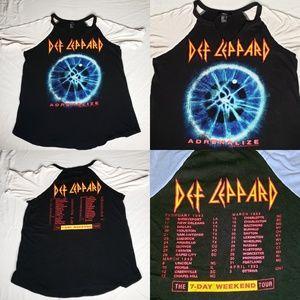 Def Leppard Adrenaline Concert Tour 1993 Rock Tee
